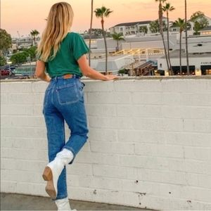 Levi's Ribcage Straight Ankle Utility Jeans